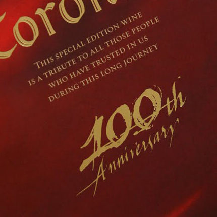 Coronas 100th Anniversary