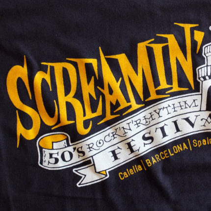 Screamin' t-shirt